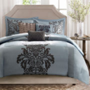 Madison Park Estella Damask 7-pc. Comforter Set