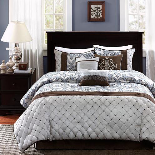 Madison Park Winchester Scroll 7-pc. Comforter Set