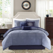 Madison Park Griffith Damask 7-pc. Comforter Set