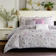 Madison Park Seville Medallion 6-pc. Duvet Cover Set
