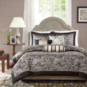 Madison Park Wellington Paisley 6-pc. Duvet Cover Set
