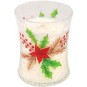 WoodWick® Medium Crackle Christmas Cake Candle