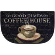 Evening Café Kitchen Wedge Rug