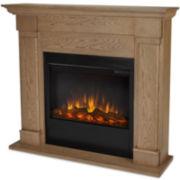 Lowry Slim Line Electric Fireplace Vintage