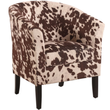 jcpenney.com | Cowprint Upholstered Club Chair