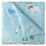 Micro Flannel® Holiday Printed Sheet Set