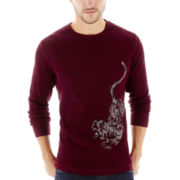 JF J. Ferrar® Long-Sleeve Graphic Thermal