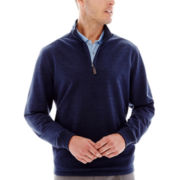 Jack Nicklaus® Quarter-Zip Terry Pullover