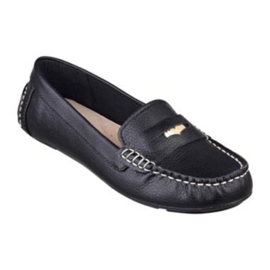 jcpenney.com | Liz Claiborne® Raise Driving Moccasins in Wide Width