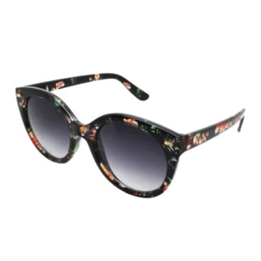 jcpenney.com | Fantas Eyes Isla Verde Floral Round Sunglasses