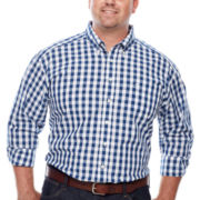 Dockers® Long-Sleeve Gingham Shirt - Big & Tall