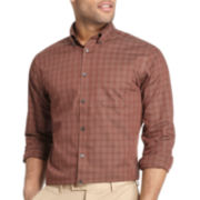 Van Heusen® No-Iron Windowpane Plaid Shirt