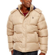 U.S. Polo Assn.® Fleece-Lined Bubble Jacket