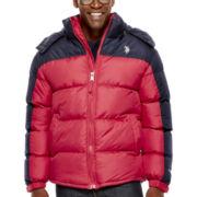 U.S. Polo Assn.® Fleece-Lined Colorblock Bubble Jacket