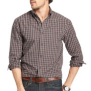 Arrow® Long-Sleeve Blazer Plaid Woven Shirt