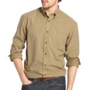 Arrow® Long-Sleeve Blazer Plaid Woven Shirt