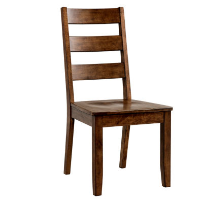 Dining Possibilities Ladder Back Chairs   Set Of 2