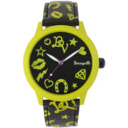 Betseyville® Signature Print-Strap Watch