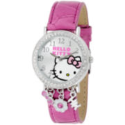 Hello Kitty® Rhinestone & Charms Watch