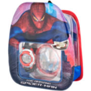 Marvel The Amazing Spider-Man or Cars Watch & Backpack Set