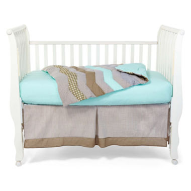 jcpenney.com | Trend Lab® Cocoa Mint 3-pc. Baby Bedding