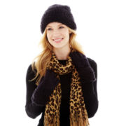 Mixit™ Beanie Hat, Leopard Muffler or Sparkle Gloves