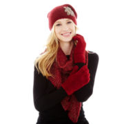 Mixit™ Embellished Beanie, Ruffled Scarf or Fluffy Gloves