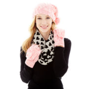 Mixit™ Cable Hat, Infinity Scarf or Gloves
