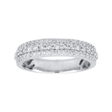 jcpenney.com | 1/2 CT. T.W. Certified Diamond 14K White Gold Band