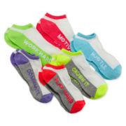 Capelli of N.Y. 6-pk. Motivate Socks – Girls
