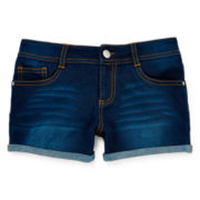 Total Girl® Denim Shorties – Girls 7-16 and Plus