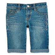 Total Girl® Bermuda Shorts - Girls 7-16 and Plus
