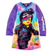 Lego Movie Wyld Style Long-Sleeve Nightshirt – Girls 4-12