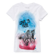 Cold Crush Short-Sleeve Graphic Tee - Girls 7-16