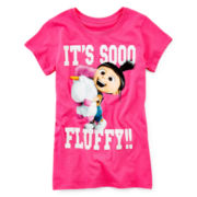 Despicable Me Graphic Knit Tee – Girls 7-16