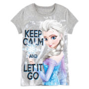 Disney Short-Sleeve Frozen Graphic Tee – Girls 7-16