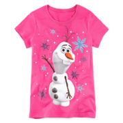 Disney Short-Sleeve Olaf Graphic Tee – Girls 7-16