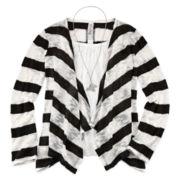 Beautees 3-pc. 3/4-Sleeve Cardigan Set – Girls 7-16