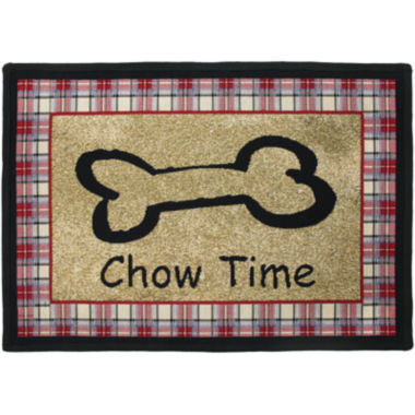 jcpenney.com | PB Paws by Park B. Smith® Chow Time Tapestry Pet Mat