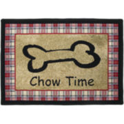 P.B. Paws by Park B. Smith™ Chow Time Tapestry Pet Mat