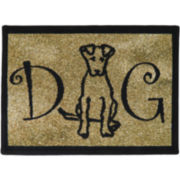 PB Paws by Park B. Smith™ Dog Person Tapestry Pet Mat