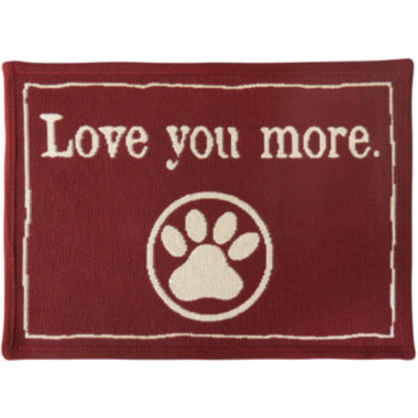 jcpenney.com | PB Paws by Park B. Smith® Love You More Tapestry Pet Mat