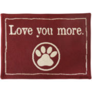 PB Paws by Park B. Smith™ Love You More Tapestry Pet Mat