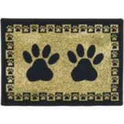 PB Paws by Park B. Smith™ Paw Border Tapestry Pet Mat