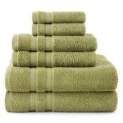 Royal Velvet® Pure Perfection™ 6-pc. Bath Towel Set