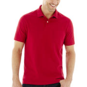 St. John's Bay® Solid Jersey Polo