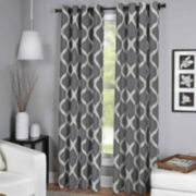 Luna Grommet-Top Curtain Panel