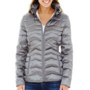 a.n.a® Packable Down Quilted Jacket - Petite