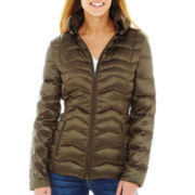 a.n.a® Packable Down Quilted Jacket