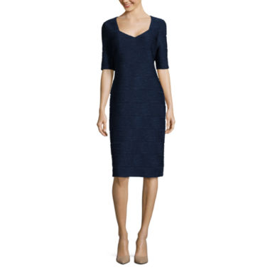 jcpenney.com | Ronni Nicole Elbow Sleeve Sheath Dress